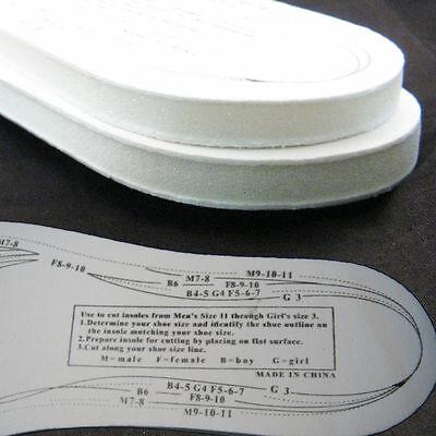 1 Paio Memory Foam Solette Ortopediche Suola Interna Scarpe Calzature Piedi Stecca- In Corto Rifornimento