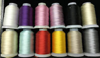Gudebrod Silk Thread Grab Bags - Hundred Of Yards, Many Colors 00 - Fff