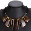 Fashion-Jewelry-Crystal-Choker-Chunky-Statement-Bib-Pendant-Women-Necklace-Chain miniature 31