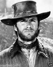 #714 CLINT EASTWOOD Black & White 8.5 x 11 GLOSSY PICTURE PHOTO NOT 8 X 10