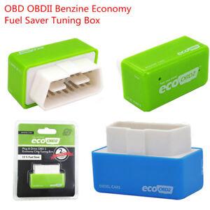 1x Eco OBD2 Benzine Economy Fuel Saver Tuning Box Chip For Diesel Car Gas Saving