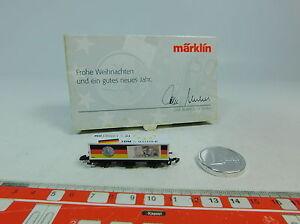 AU588-0-5-Maerklin-mini-club-Z-DC-Containerwagen-Weihnachten-Euro-Mark-NEUW-OVP