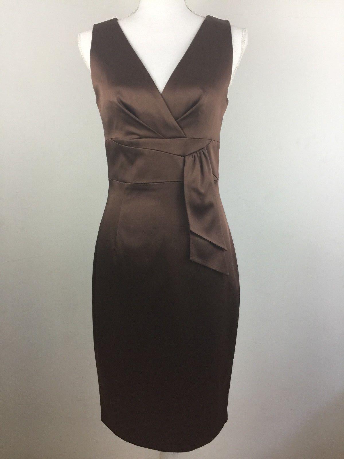 Kay Unger New York Woman''s braun Dress, Größe 8