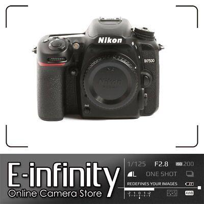 NUEVO Nikon D7500 DSLR Camera Body Only Kit Box