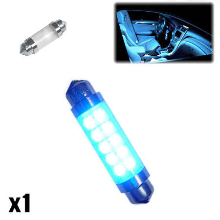 1x MG ZR 160 264 42mm Blue Interior Courtesy Bulb LED Upgrade Light New XE0