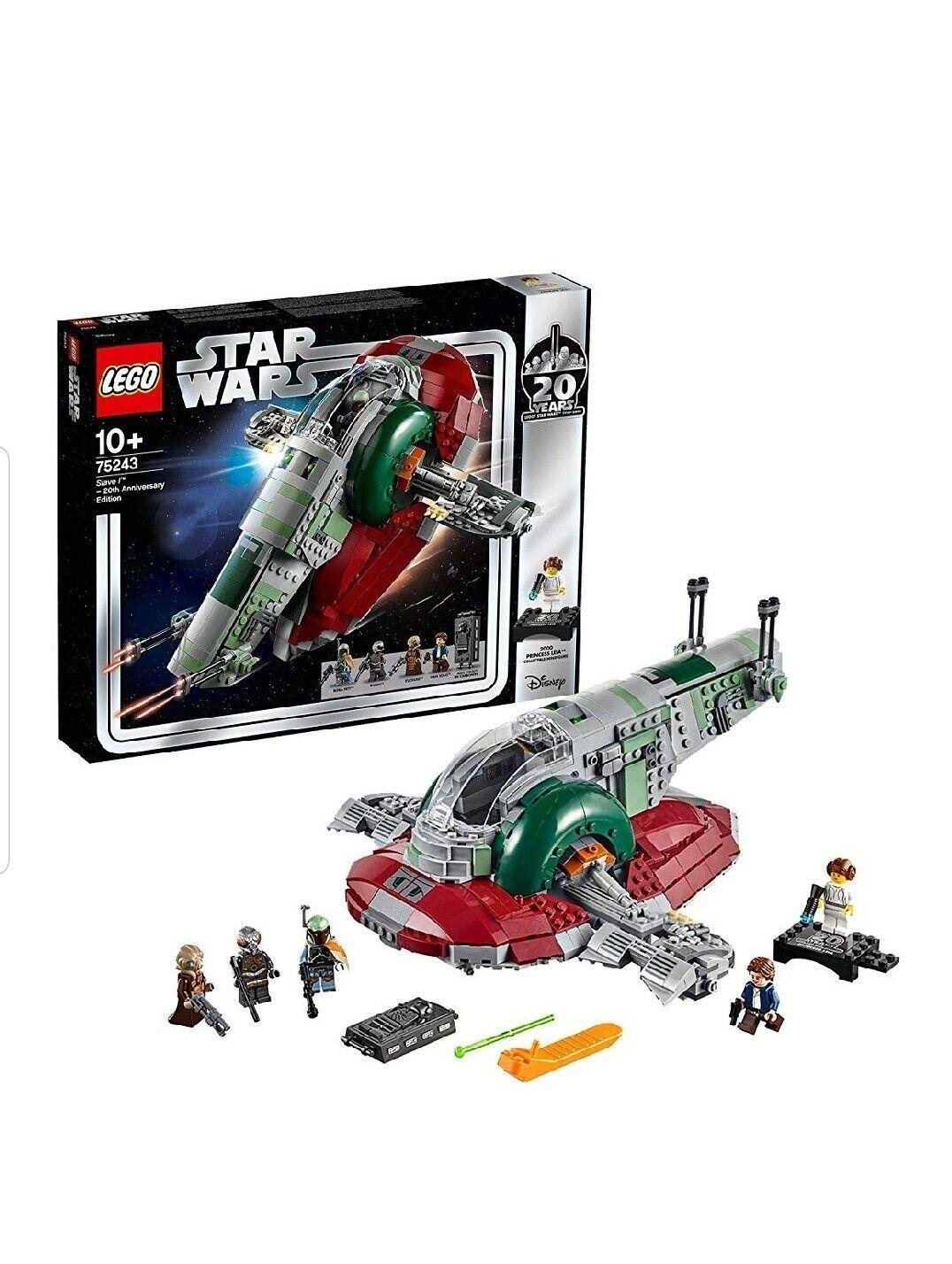 Lego Star Wars  Esclave I (75243) 20 Ans Édition Neuf en Emballage D'Origine  point de vente