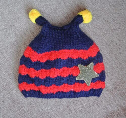 Fleece lined-Stock fillers 4 designs 18-36 months Baby novelty ANTENNA hat