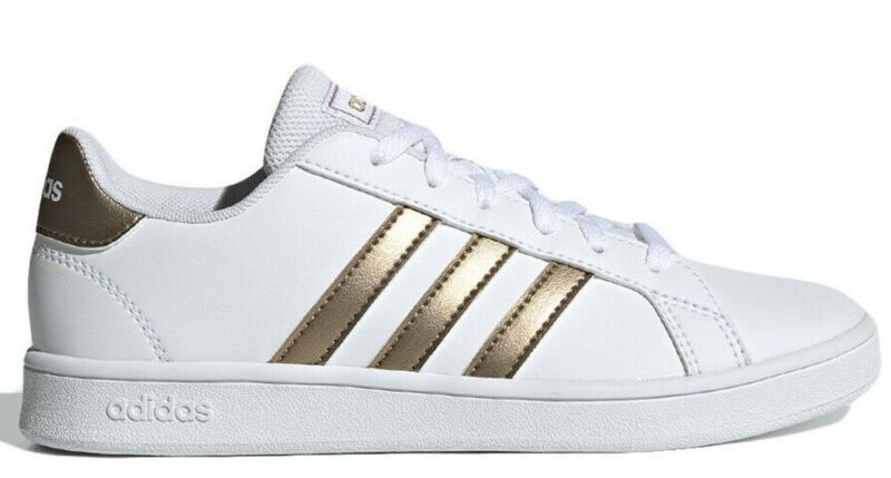 Adidas Grand Court K Women's Shoes Advantage Stan Smith Leather Sports Sneakers-show Original Title
