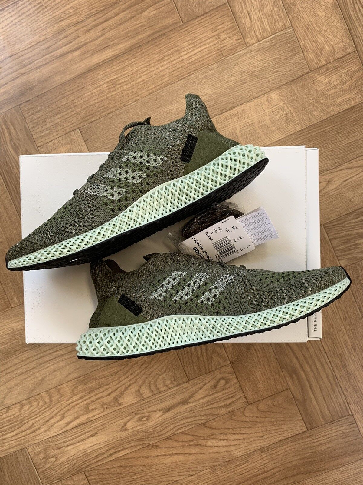 Adidas Futurecraft 4D Footpatrol Size 8.5 Boxed New Rare shoes ( With Receipt