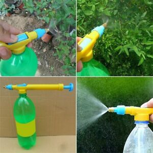 Mini-Juice-Bottles-Interface-Plastic-Trolley-Gun-Sprayer-Head-Water-Pressure-ND