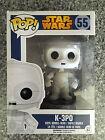BNIB Pop Star Wars Number 55 K-3PO Bobble Head Collector Series Unopened Toy