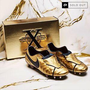 c28f879c2c0 Nike Tiempo Legend VI 6 SE FG - Totti X Roma -Limited Edition - Gold ...