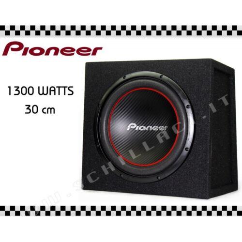 PIONEER UD-W304R subwoofer cassa chiusa da 30 cm 1300 watts PIONEER UD-W304R sub