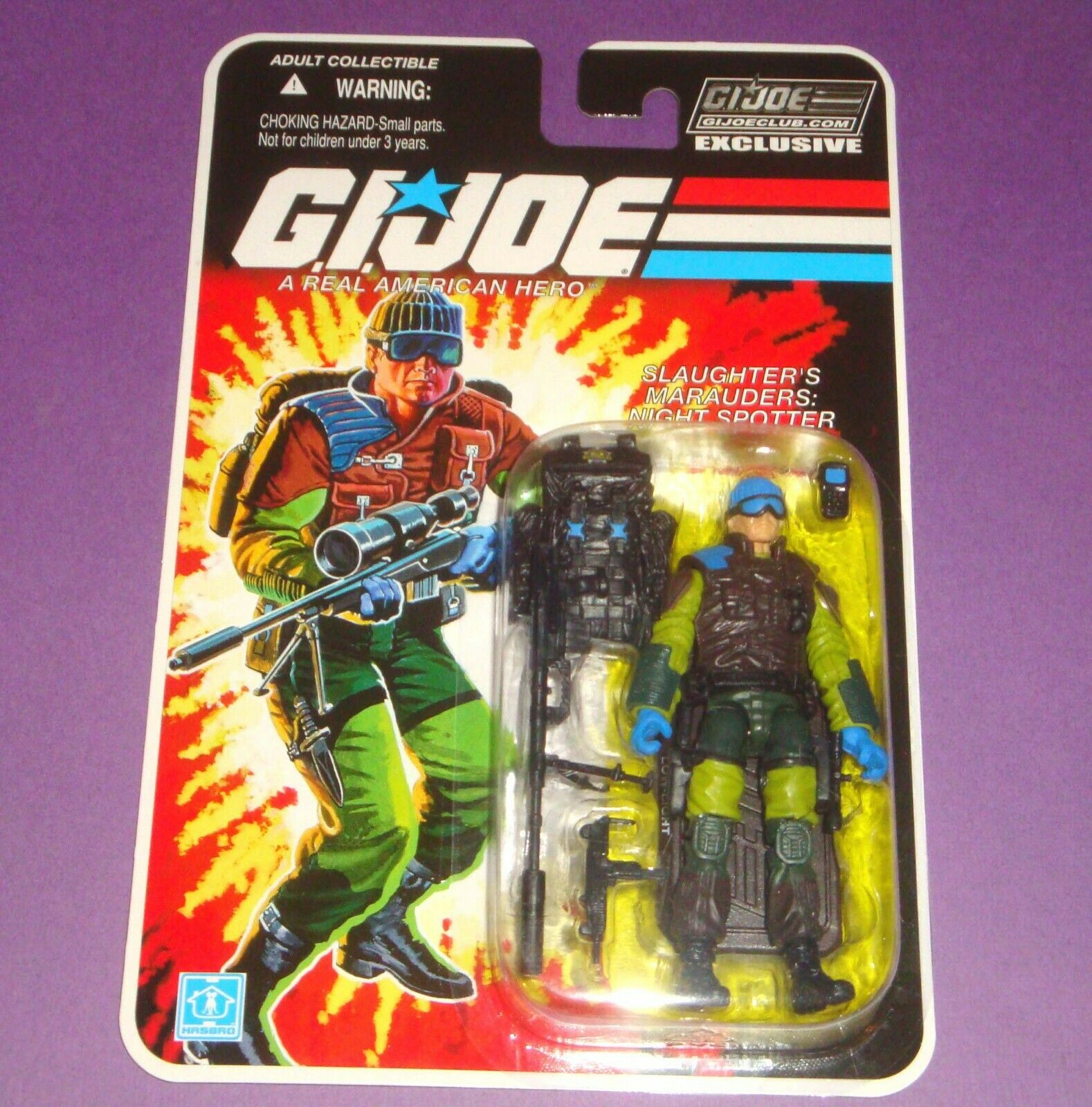 GIJOE Low-Light - FSS Final 12 Figure - Carded MOC Marauder