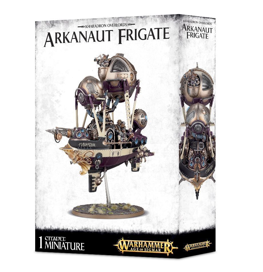 Warhammer Age of Sigmar Kharadron Overlords Arkanaut Frigate plastic box new