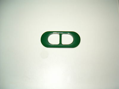 Gürtelschnalle Ca 3 X7,cm Innen Ca 2 Cm Kunststoff Grün
