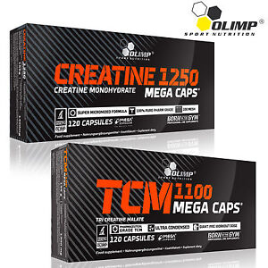 Creatine-Monohydrate-Tri-Creatine-Malate-60-180-Cap-Muscle-Growth-Bodybuilding