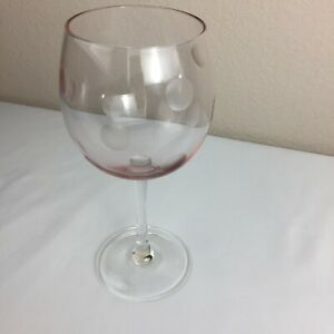 MARQUIS-by-Waterford-PINK-Polka-Dot-20-oz-All-Purpose-Wine-Glass-8-5-034-H