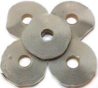 Colorimetrics Gray Putty Tape / Butyl Tape 1/8 X 3/4 X 30' (5-pack), New, Free on Sale