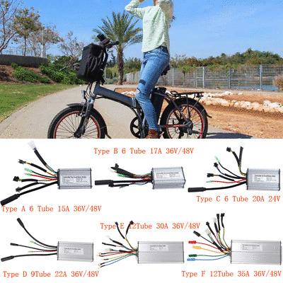 24V//36V//48V 1000W Electric Bicycle E-bike Scooter Brush Speed Motor Controller