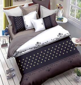 M289 Queen/King/Super King Size Bed Duvet/Doona/Quilt Cover Set New