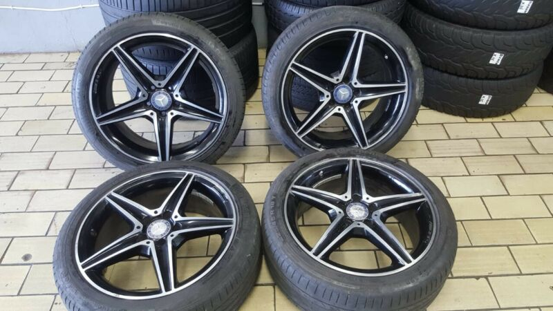 OEM 18 inches AMG narrow and wide rims and tyres R245/40/18 and 225/45/18