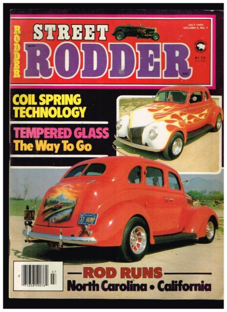 STREET RODDER JULY 1980 CONTENTS IN SECOND PHOTO HOT ROD TECH TIPS HOW TO'S