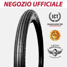2.50 - 18 RIGATO Pneumatici Gomme moto epoca ORIGINALI Italian Classic Tire