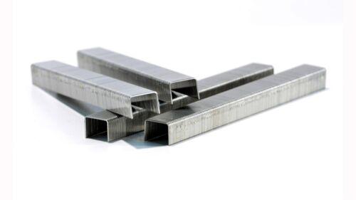 8 mmhohe Qualität 10.000 Heftklammer Typ 80//8rostfrei EdelstahlLänge