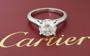 cartier 1 ct ring