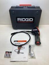 Ridgid 36848 Model Micro Ca 150 Hand Held Inspection Camera Borescope