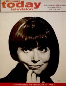 TV-Guide-1969-Get-Smart-Barbara-Feldon-Regional-Chicago-Today-TV-NM-MT-COA