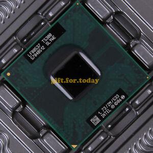 Intel Core 2 Duo T5300 1.73 GHz Sockte M CPU SL9WE*
