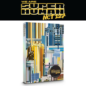 NCT-127-WE-ARE-SUPERHUMAN-4th-Mini-Album-CD-POSTER-PBook-2p-Card-GIFT-SEALED