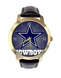 NFL-Dallas-Cowboys-Watch-Womens-Genuine-Leather-Strap-Fashion