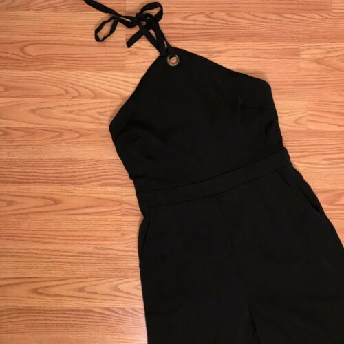 New Sugarlips In Black Size Halter Small Brand Jumpsuit ZPSwxqCqd