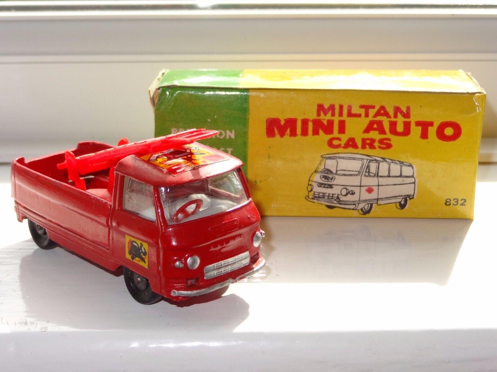 Milton Maxwell India Commer dispositivo de servicio de bomberos en caja