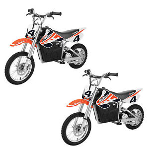 Razor MX650 Steel Electric Dirt Rocket Teen Motorcross Motorcycle Bike (2 Pack)