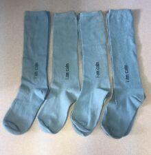 d7a681bbc21 4 Pair Maggies Organic Cotton Calf   Knee Blue Green Mantra Womens Socks 6-9