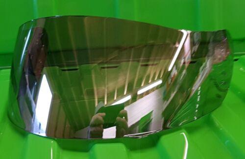 Silver Mirror Visor Fits AGV GT Q3 Bolt Syncro Airtech S4 Daystar Stealth Mirage