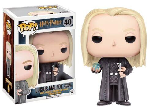 Harry Potter #40 Vinyl Figur Funko Lucius Malfoy Holding Prophecy POP
