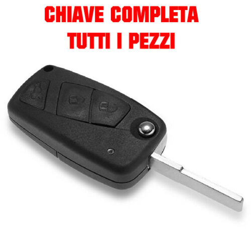 COVER CHIAVE 3 TASTI GUSCIO TELECOMANDO COMPATIBILE CON FIAT PANDA DUCATO
