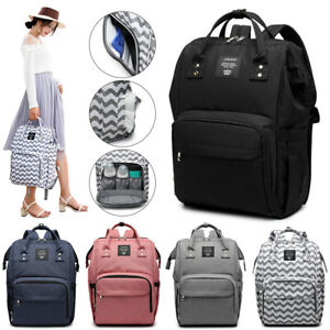 LEQUEEN Multifunction Mummy Maternity Diaper Nappy Bag Baby Nursing Backpack Hot