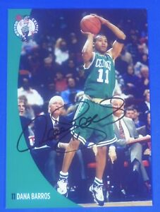 DANA-BARROS-signed-autograph-5-x-7-photo-Boston-Celtics