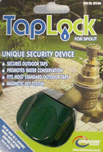 Taplock Outdoor Tap Security Device Locking SPS100 Water Theft Conservation