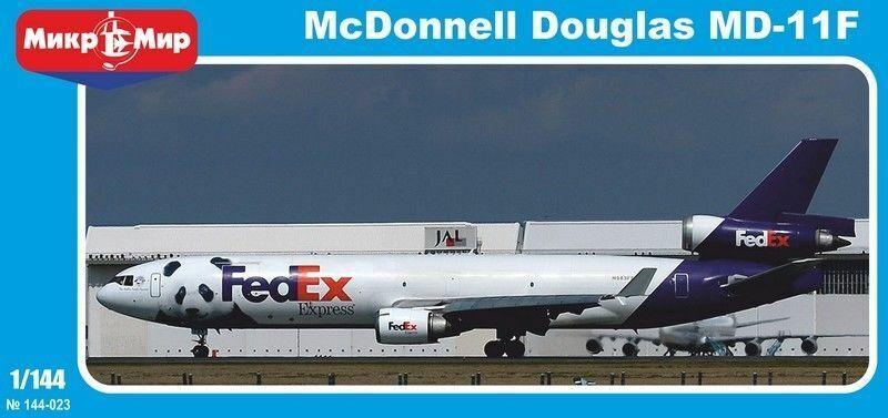 MikroMir 144-023 McDonnell Douglas MD-11F Freighter FedEx 1 144 Scale Model Kit