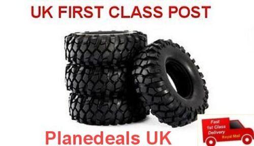 "1//10 rc rock crawler tyre set 1.9/"" 96mm dia AXIAL SCX10 CC01 tire pajeronT3"