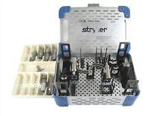 Stryker Cd3 4300 Sabo Saw Set Cordless Driver Sagittalcase6 Attachments