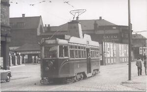Leeds-Hunslet-Tram-Postcard-Sized-Photograph-Robert-Mack