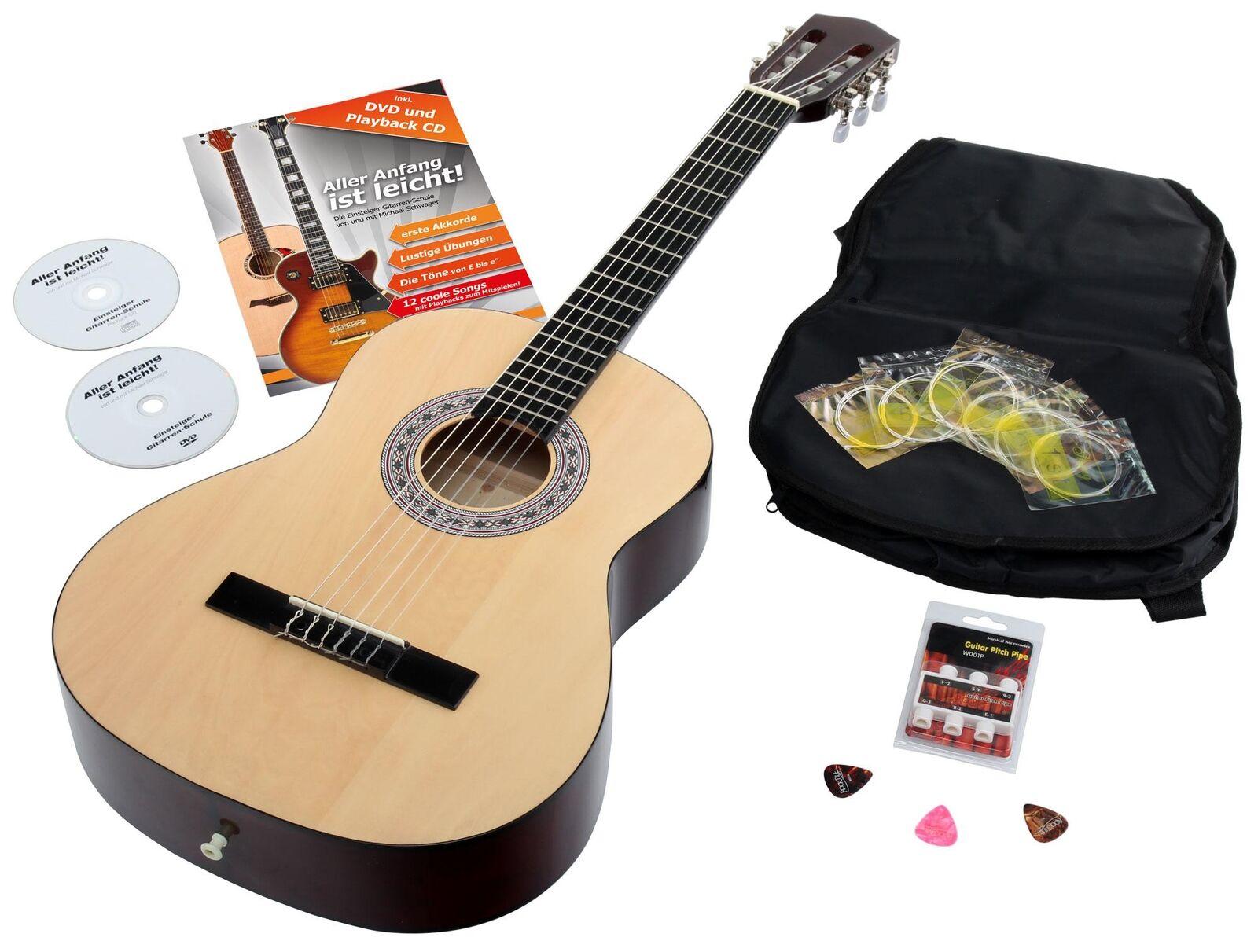 Schöne Kindergitarre mit Zubehör - der perfekte Einstieg in die Welt der Musik